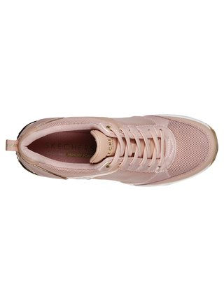 Skechers pudrové tenisky na platformě Million Air Up There Light Pink