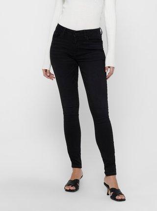 Černé skinny fit džíny Jacqueline de Yong Olga