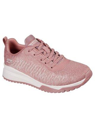 Skechers ružové tenisky Bobs Squad 3 Blush