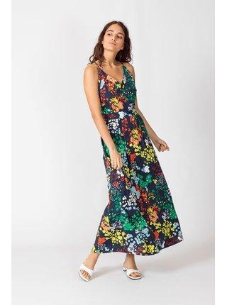 SKFK barevné maxi šaty Noelia