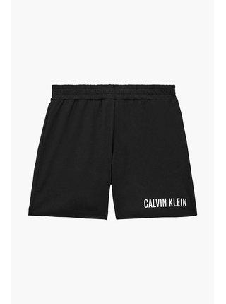 Calvin Klein čierne chlapčenské kraťasy