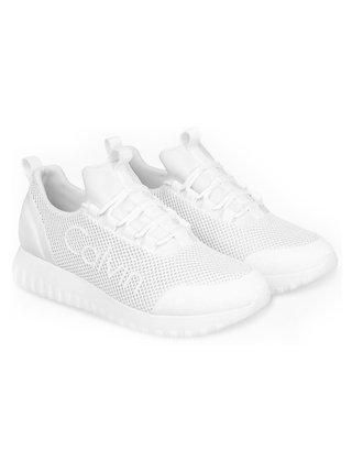 Calvin Klein bílé sportovní tenisky Runner Sneaker Laceup Mesh