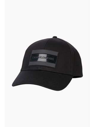 Calvin Klein čierne šiltovka Nylon Tarp Cap