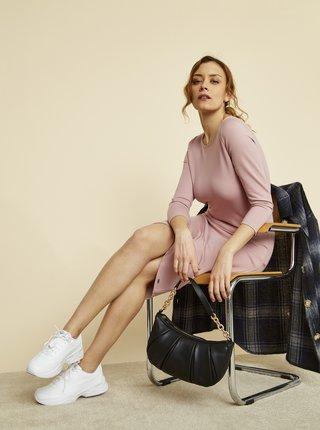 Světle růžové pouzdrové basic šaty ZOOT Baseline Berit