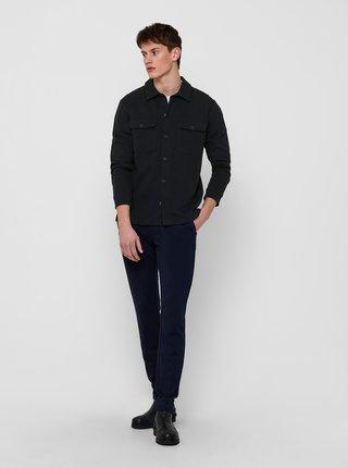 Čierna košeľa ONLY & SONS