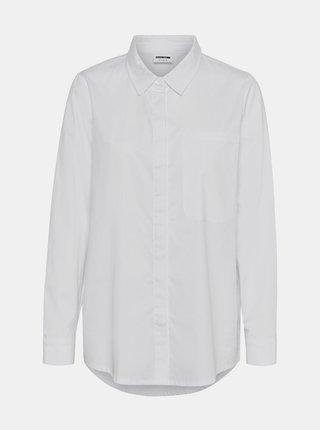 Biela košeľa Noisy May Alamo