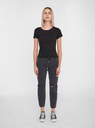 Černé tričko Noisy May Berry