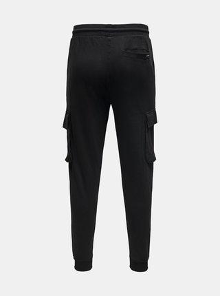 Čierne nohavice s vreckami ONLY & SONS Kian