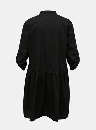 Černé košilové šaty Jacqueline de Yong Cameron