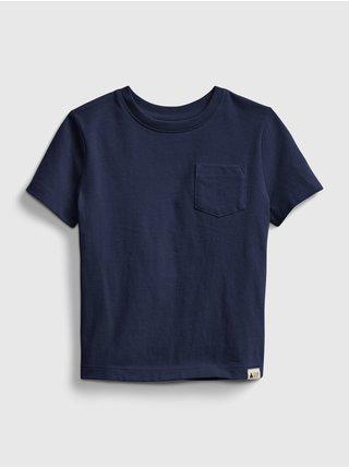 Detské tričko organic mix and match t-shirt Modrá