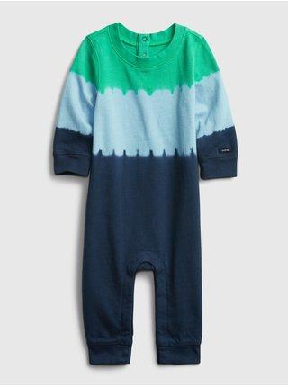 Baby overal dip dye one-piece Farebná