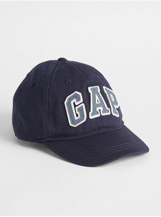 Modrá dětská kšiltovka GAP Logo baseball hat