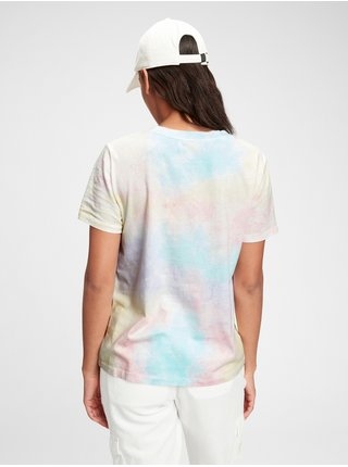 Barevné dámské tričko ss org vint cr