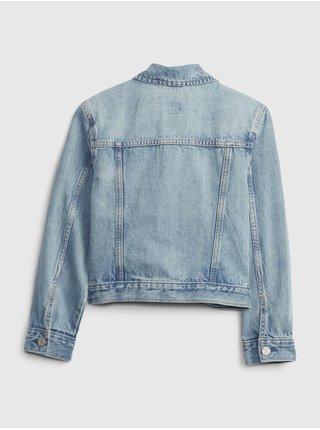 Modrá holčičí dětská džínová bunda icon dnm jkt - lt