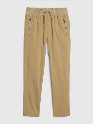 Béžové klučičí dětské kalhoty hybrid pull-on pants with quickdry