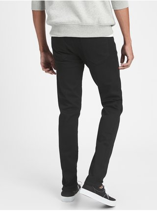 Černé pánské džíny super skinny jeans with GapFlex max