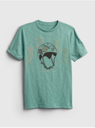 Zelené klučičí dětské tričko graphic flash t-shirt