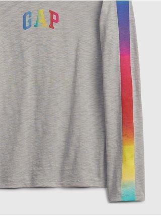 Chlapci - Dětské tričko GAP Logo ls tee