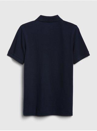 Detské polo tričko Modrá