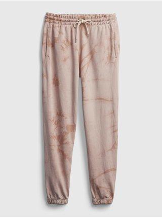 Růžové dámské tepláky vintage soft classic joggers
