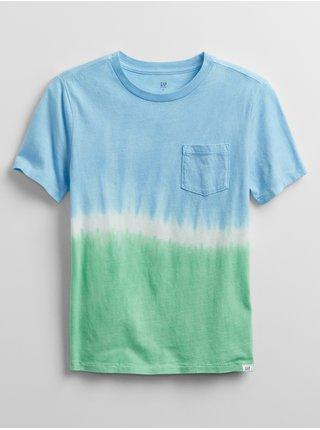 Detské tričko tie-dye t-shirt Farebná