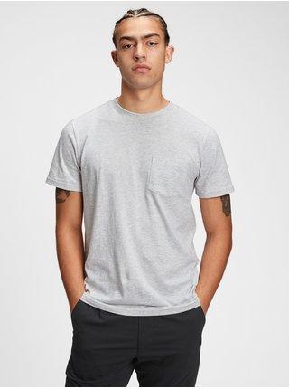 Tričko organic cotton pocket t-shirt Biela