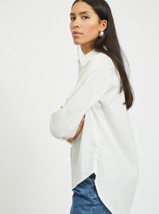 Biela košeľa VILA Gima