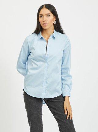 Svetlomodrá košeľa VILA Gima