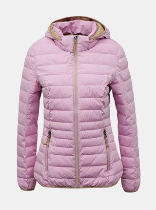 Růžová dámská prošívaná bunda killtec