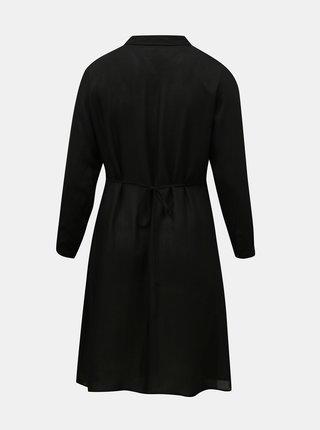 Černé košilové šaty ONLY CARMAKOMA.Marrakesh