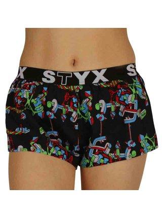 Dámské trenky Styx art sportovní guma strukture