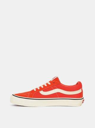 Oranžové semišové tenisky VANS