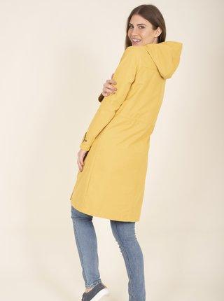 Žltý kabát s kapucou Brakeburn