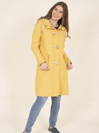 Žlutý kabát s kapucí Brakeburn