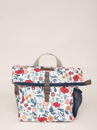 Modro-bílá květovaná taška Brakeburn