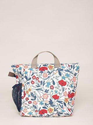 Modro-biely kvetovaný batoh Brakeburn