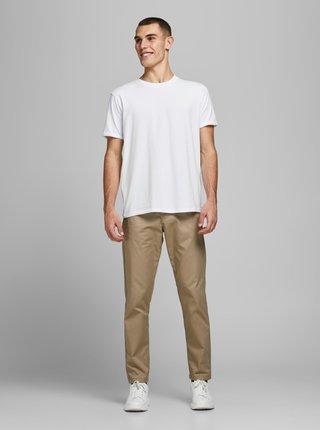 Biele basic tričko Jack & Jones