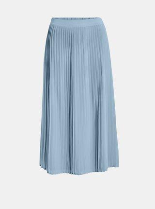 Modrá plisovaná sukně VILA