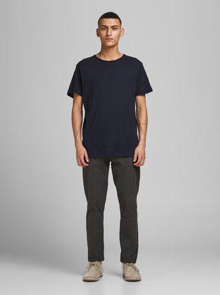Tmavě modré basic tričko Jack & Jones Vance
