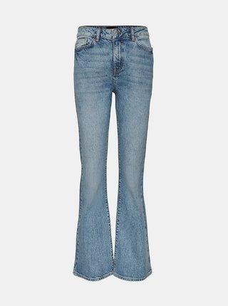 Světle modré flared džíny VERO MODA Siga