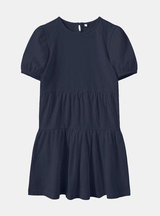 Tmavě modré holčičí šaty name it Vivaldi