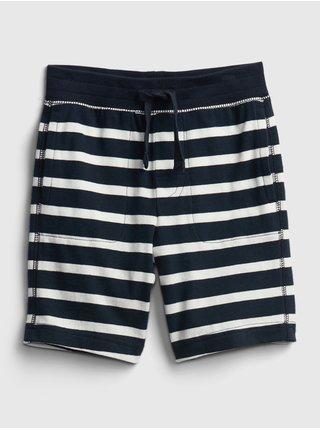 Detské kraťasy print pull-on shorts Modrá
