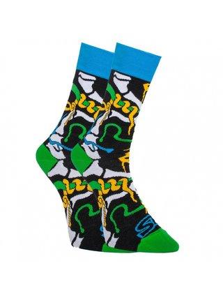 Veselé ponožky Styx vysoké jungle