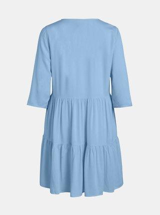 Světle modré šaty VILA