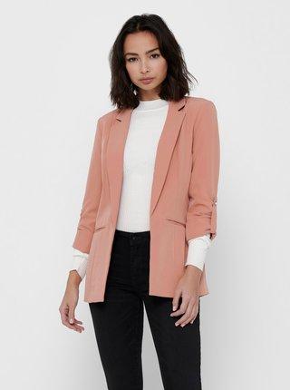 Růžové sako ONLY Kayle