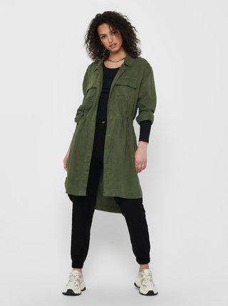 Zelený lehký kabát ONLY Kenya
