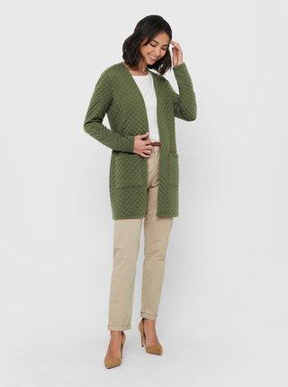Zelený lehký kabát Jacqueline de Yong Napa