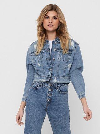 Modrá krátká džínová bunda ONLY Malibu
