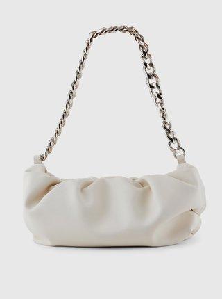 Biela kabelka Pieces Fibra