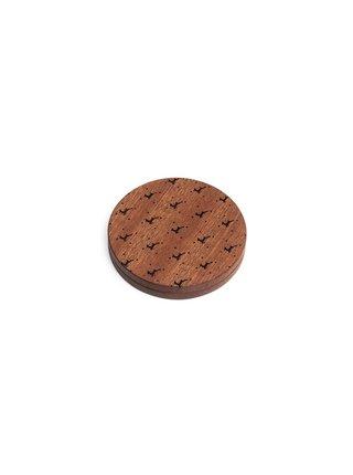 Dřevěné zrcátko BeWooden Rubi
